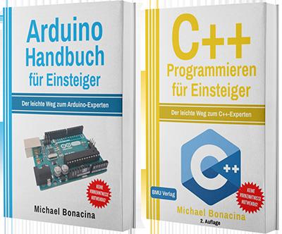 Arduino Handbuch für Einsteiger + C++ Programmieren für Einsteiger (Taschenbuch)