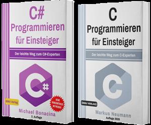 C# Programmieren für Einsteiger + C Programmieren für Einsteiger (Taschenbuch)