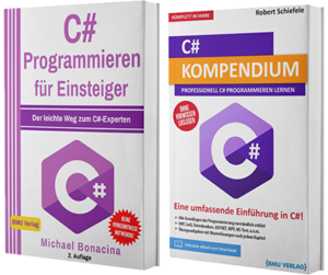 C# Programmieren für Einsteiger + C# Kompendium (Hardcover)
