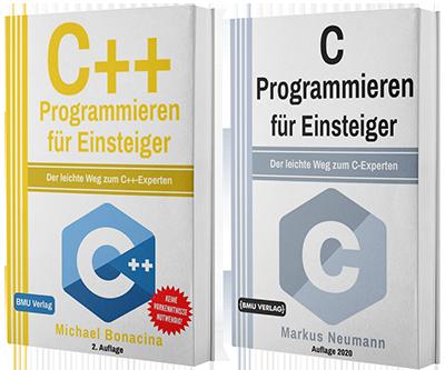 C Programmieren für Einsteiger + C++ Programmieren für Einsteiger (Taschenbuch)