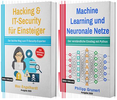 Hacking & IT-Security für Einsteiger + Machine Learning und Neuronale Netze (Taschenbuch)