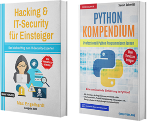 Hacking & IT-Security für Einsteiger + Python Kompendium (Hardcover)