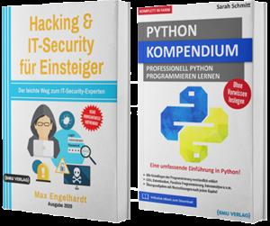 Hacking & IT-Security für Einsteiger + Python Kompendium (Hardcover)