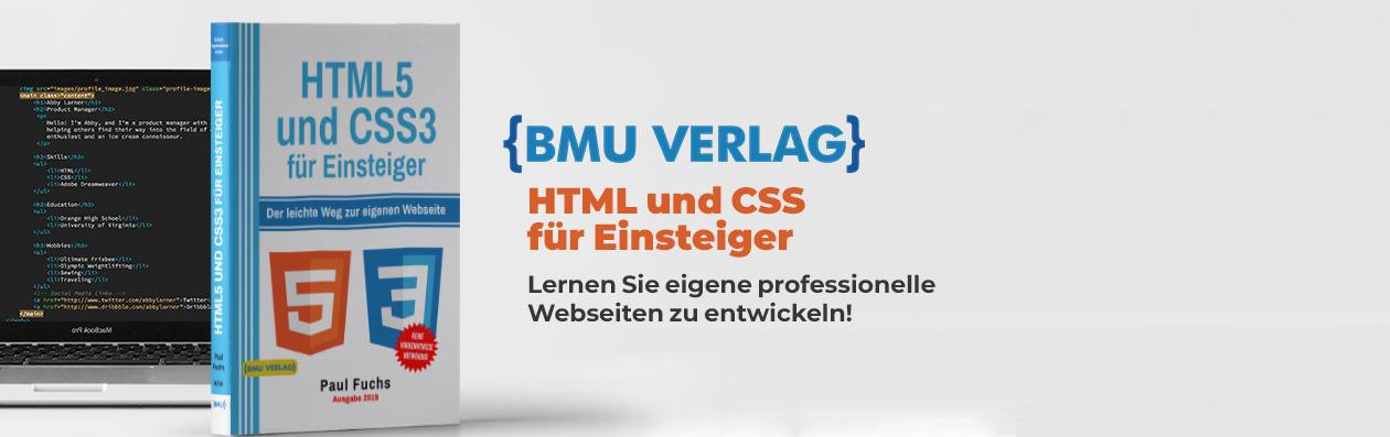 HTML und CSS3 lernen Buch