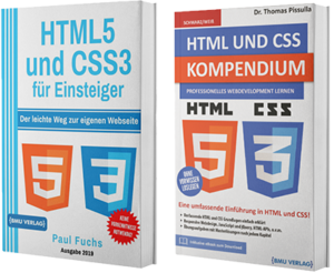 HTML5 und CSS3 für Einsteiger + HTML und CSS Kompendium (Taschenbuch)