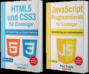 HTML5 und CSS3 für Einsteiger + JavaScript Programmieren für Einsteiger (Taschenbuch)