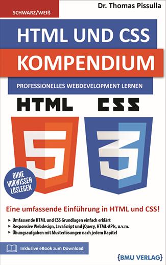 HTML und CSS Kompendium: Professionelles Webdevelopment Lernen (bald verfügbar) (Taschenbuch)