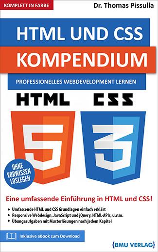 HTML und CSS Kompendium: Professionelles Webdevelopment Lernen (bald verfügbar) (Hardcover)