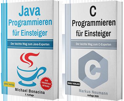 Java Programmieren für Einsteiger + C Programmieren für Einsteiger (Taschenbuch)