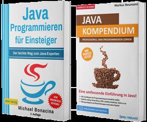 Java Programmieren für Einsteiger + Java Kompendium (Hardcover)