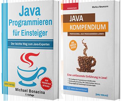 Java Programmieren für Einsteiger + Java Kompendium (Taschenbuch)