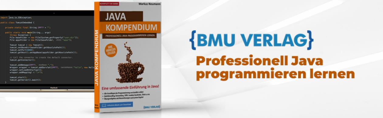 Java Kompendium lernen ohne Vorkenntnisse