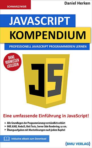 JavaScript Kompendium: Professionell JavaScript Programmieren Lernen (Taschenbuch)