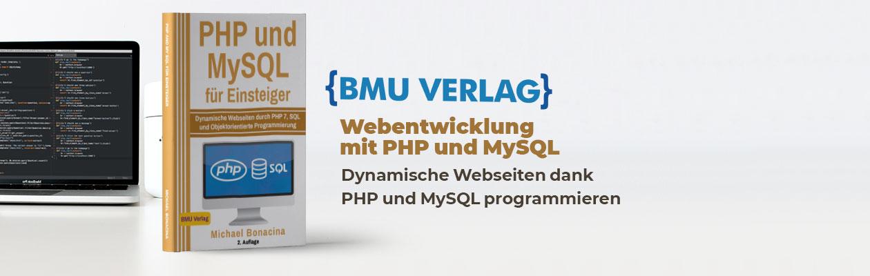 PHP und MySQL Screenshots und Beispiele