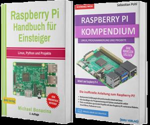 Raspberry Pi Handbuch für Einsteiger + Raspberry Pi Kompendium (Taschenbuch)
