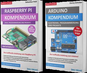 Raspberry Pi Kompendium + Arduino Kompendium (Hardcover)