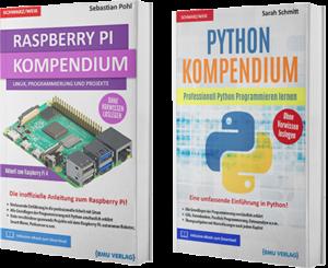 Raspberry Pi Kompendium + Python Kompendium (Taschenbuch)