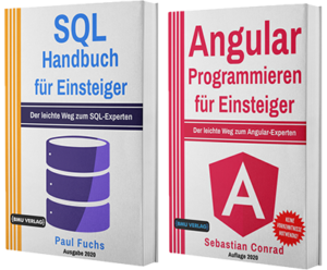 SQL Handbuch für Einsteiger + Angular Programmieren für Einsteiger (Taschenbuch)