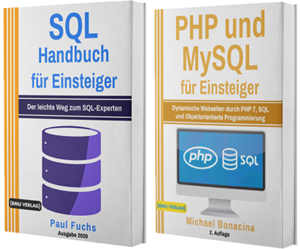 SQL Handbuch für Einsteiger + PHP und MySQL für Einsteiger (Taschenbuch)