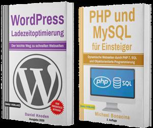 WordPress Ladezeitoptimierung + PHP und MySQL für Einsteiger (Taschenbuch)