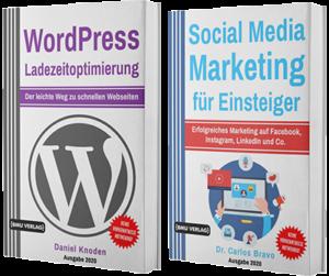 WordPress Ladezeitoptimierung + Social Media Marketing für Einsteiger (Taschenbuch)