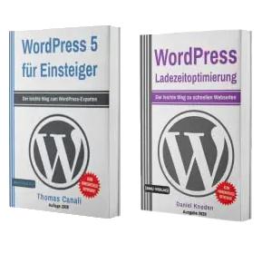 WordPress 5 für Einsteiger + WordPress Ladezeitoptimierung (Taschenbuch)